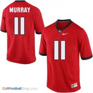 Aaron Murray Georgia Bulldogs #11 - Red Jersey