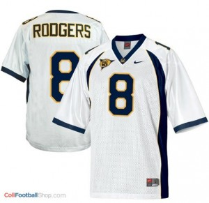 Aaron Rodgers California Golden Bears #8 Youth - White Jersey