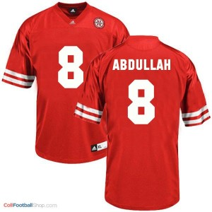 Ameer Abdullah UN Cornhuskers #8 - Red Jersey