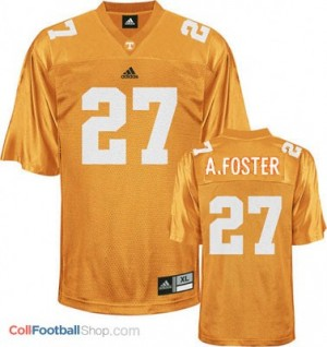 Arian Foster Tennessee Volunteers #27 Youth - Orange Jersey
