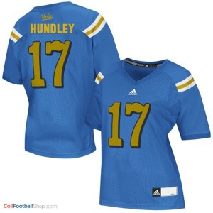Brett Hundley UCLA Bruins #17 Women - Blue Jersey