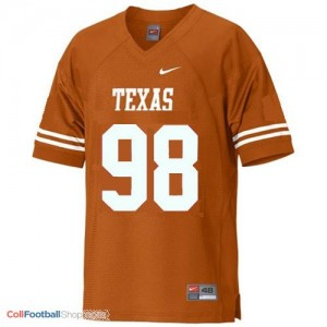 Brian Orakpo Texas Longhorns #98 Youth - Orange Jersey