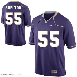 Danny Shelton Washington Huskies #55 Youth - Purple Jersey