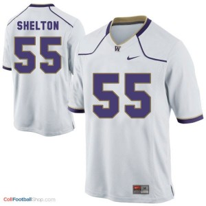 Danny Shelton Washington Huskies #55 Youth - White Jersey