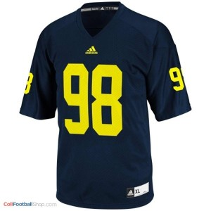 Devin Gardner UMich Wolverines #98 Youth - Navy Blue Jersey
