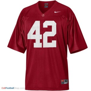 Eddie Lacy University of Alabama #42 Youth - Crimson Red Jersey