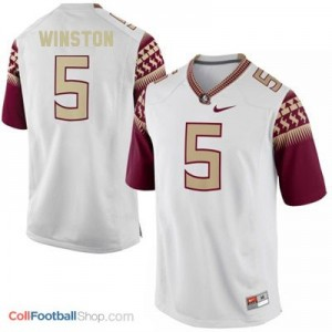 Jameis Winston 2014 UF Gators #5 Youth - White Jersey