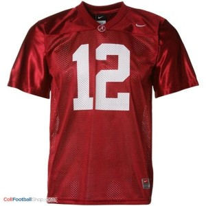Joe Namath UA Crimson Tide #12 Mesh - Crimson Red Jersey