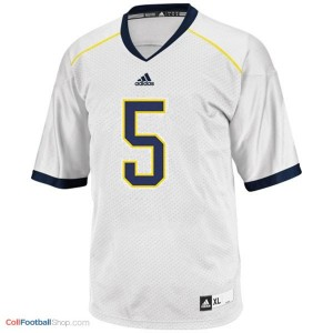 John Wangler UMich Wolverines #5 Youth - White Jersey