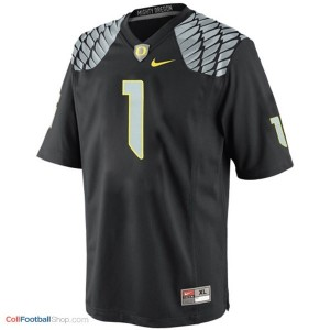 Josh Huff UO Duck #1 Youth - Black Jersey