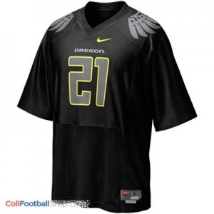 LaMichael James UO Duck #21 - Black Jersey