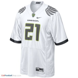 LaMichael James UO Duck #21 Youth - White Jersey