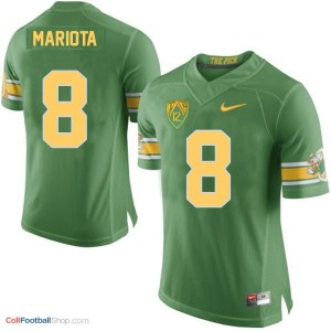 Marcus Mariota UO Duck 20th Anniversary The Pick Youth - Green Jersey
