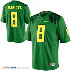 Marcus Mariota UO Duck #8 - Apple Green Jersey