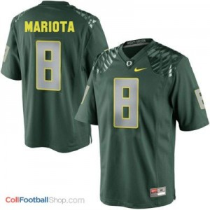 Marcus Mariota UO Duck #8 Youth - Green Jersey