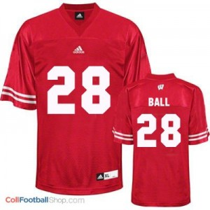 Montee Ball UW Badger #28 Youth - Red Jersey