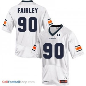Nick Fairley AU Tigers #90 Youth - White Jersey