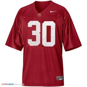 UA Crimson Tide Dont'a Hightower #30 Red Youth Jersey
