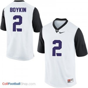 Trevone Boykin TCU Horned Frogs #2 College - White Jersey
