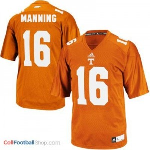 Peyton Manning Tennessee Volunteers #16 Youth - Orange Jersey