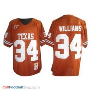 Ricky Williams Texas Longhorns #34 Youth - Orange Jersey