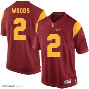 Robert Woods USC Trojans #2 Youth - Red Jersey