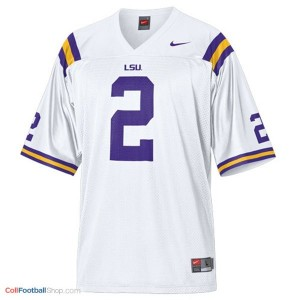 Rueben Randle LSU Tigers #2 Mesh Youth - White Jersey