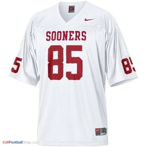 Ryan Broyles OU Sooner #85 Youth - White Jersey