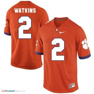 Sammy Watkins Clemson Tigers #2 Youth - Orange Jersey