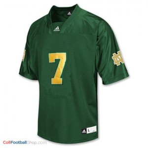 Stephon Tuitt ND Irish #7 Youth - Green Jersey