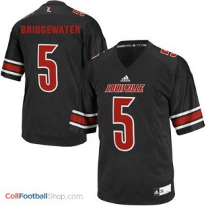 Teddy Bridgewater Louisville Cardinals #5 Youth - Black Jersey