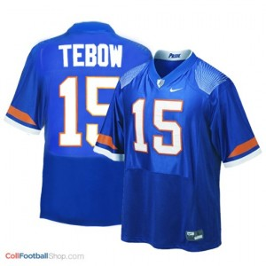 Tim Tebow UF Gators #15 Youth - Blue Jersey