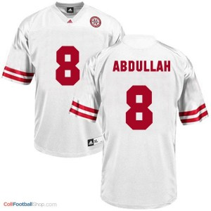 Ameer Abdullah UN Cornhuskers #8 Youth - White Jersey