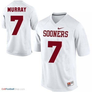 DeMarco Murray OU Sooner #7 - White Jersey