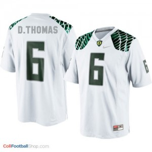 De'Anthony Thomas UO Duck #6 Youth - White Jersey