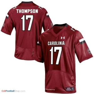 Dylan Thompson USC Gamecock #17 Youth - Red Jersey