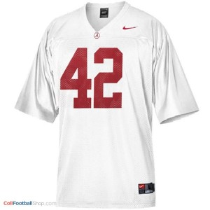 Eddie Lacy University of Alabama #42 Youth - White Jersey