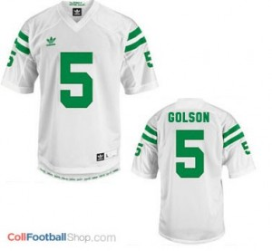 Everett Golson ND Irish #5 Youth - White Jersey