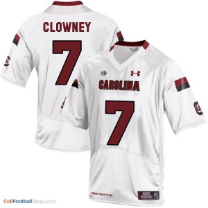 Jadeveon Clowney USC Gamecock #7 Youth - White Jersey