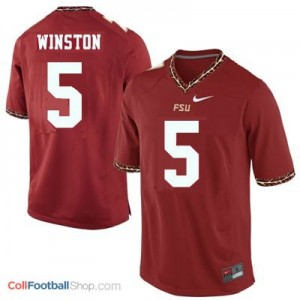 Jameis Winston 2013 UF Gators #5 - Garnet Red Jersey