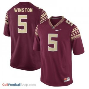 Jameis Winston 2014 UF Gators #5 - Garnet Red Jersey