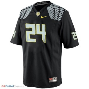 Kenjon Barner UO Duck #24 Youth - Black Jersey