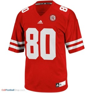 Kenny Bell UN Cornhuskers #80 Youth - Red Jersey