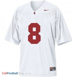 Kevin Hogan SU Cardinal #8 Youth - White Jersey