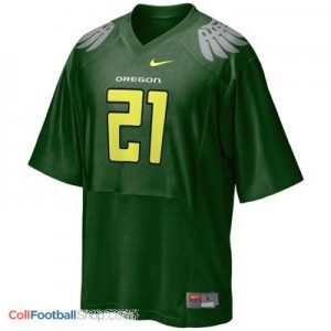LaMichael James UO Duck #21 - Green Jersey