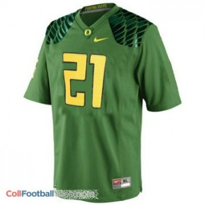 LaMichael James UO Duck #21 Youth - Apple Green Jersey