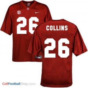Landon Collins UA Crimson Tide #26 Youth - Crimson Red Jersey