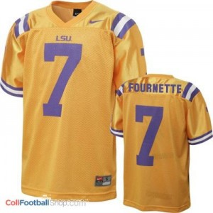 Leonard Fournette LSU Tigers #7 Youth - Gold Jersey