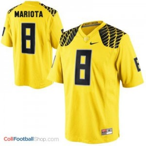 Marcus Mariota UO Duck #8 Youth - Yellow Jersey