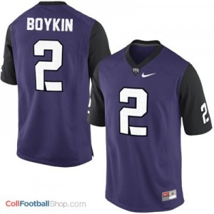 Trevone Boykin TCU Horned Frogs #2 College - Purple Jersey